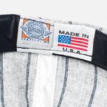 Кепка Ebbets Field Flannels Osaka Tigers 1945 Wool Grey Stripe фото- 5