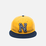 Ebbets Field Flannels US Naval Academy 1959 Wool Cap Yellow/Navy photo- 0
