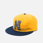 Ebbets Field Flannels US Naval Academy 1959 Wool Cap Yellow/Navy photo- 1