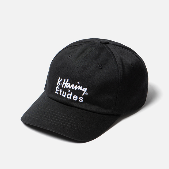 Кепка Etudes x Keith Haring Booster Etudes Black