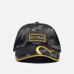 Кепка Evisu Evisukuro 2 Layer Monogram All Over Dad Black