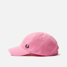 Кепка Fred Perry Pique Classic Bright Pink фото- 1