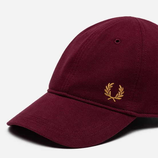 Кепка Fred Perry Pique Classic Port/Gold
