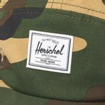 Кепка Herschel Supply Co. Glendale Woodland Camo/Brass Eyelets фото- 3