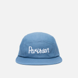 Maison Kitsune Parisien 5P Cap Blue photo- 0