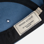 Maison Kitsune Parisien 5P Cap Blue photo- 5