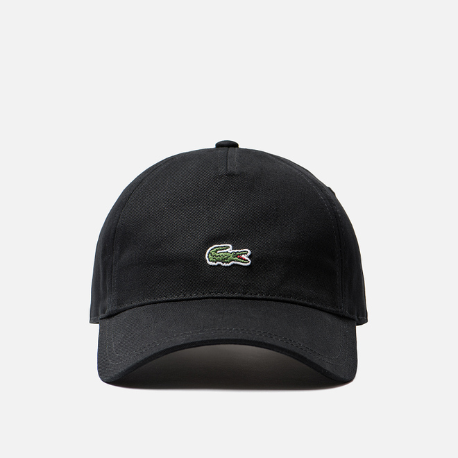 Кепка Lacoste Embroidered Crocodile Black