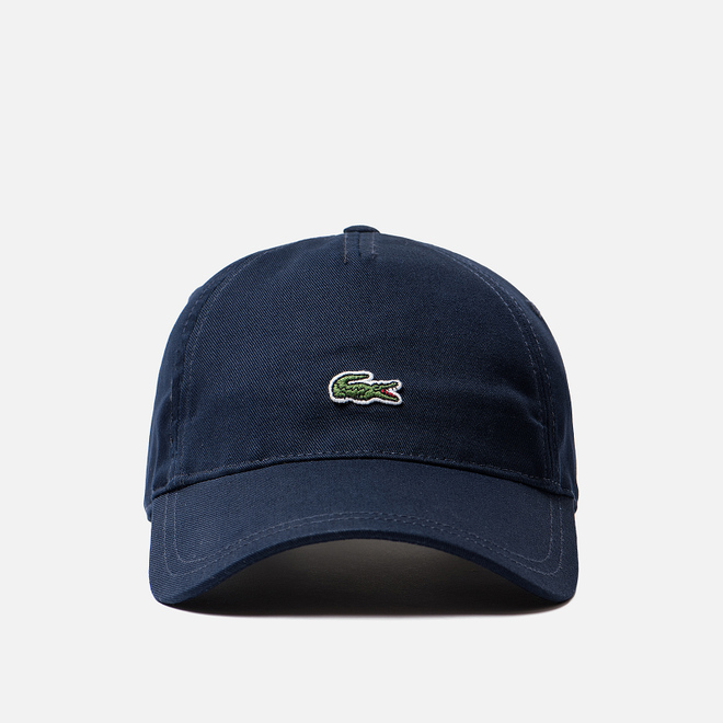 Кепка Lacoste Embroidered Crocodile Navy Blue
