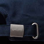 Кепка Lacoste Embroidered Crocodile Navy Blue фото- 3