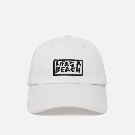 Кепка Life's a Beach Logo White
