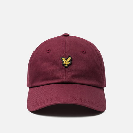 Кепка Lyle & Scott Cotton Twill Baseball Claret Jug