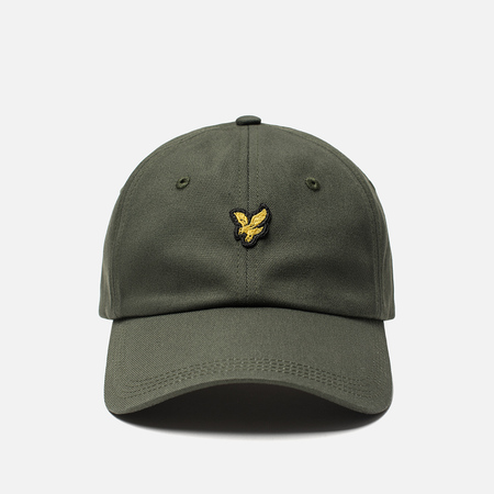 Кепка Lyle & Scott Cotton Twill Baseball Leaf Green
