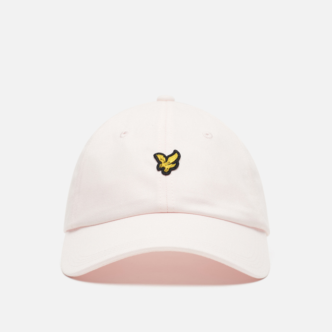Кепка Lyle & Scott Cotton Twill Baseball Pastel Pink