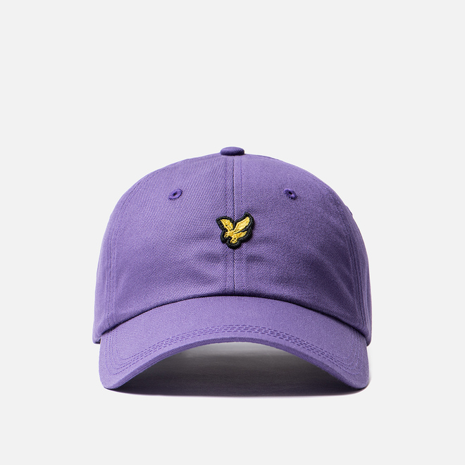 Кепка Lyle & Scott Cotton Twill Baseball Violet