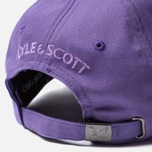 Кепка Lyle & Scott Cotton Twill Baseball Violet фото- 3