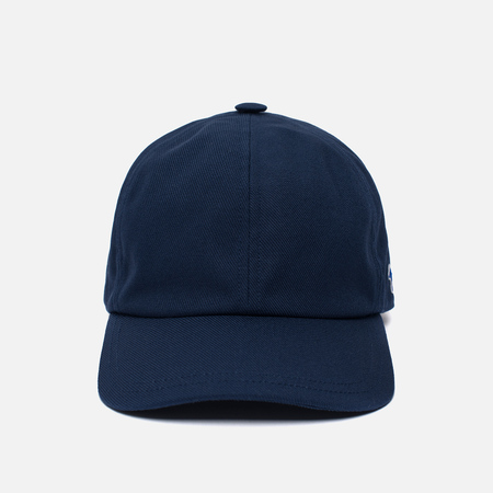 Кепка Maison Kitsune 6 Panel Tricolor Fox Patch Navy