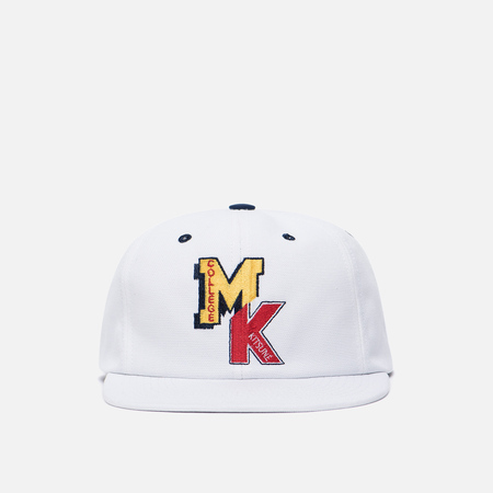 Кепка Maison Kitsune Baseball MK College White