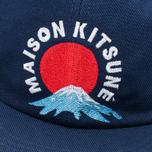 Кепка Maison Kitsune Mont Fuji Navy фото- 4