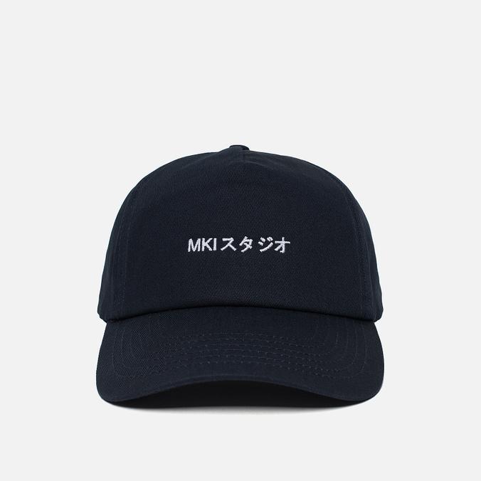 Кепка MKI Miyuki-Zoku Curved Peak Ball Navy