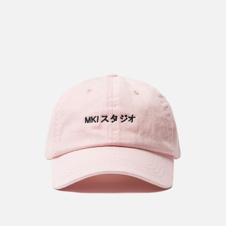 Кепка MKI Miyuki-Zoku Twill Ball Logo Pink