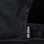 Кепка Nike SB Heritage86 Twill Black/Black/White фото- 3