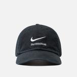 Кепка Nike SB Heritage86 Twill Black/Black/White фото- 0