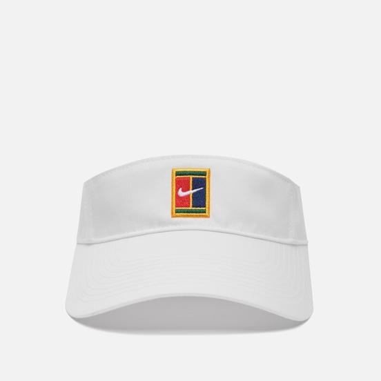 Кепка Nike Visor Court Logo White