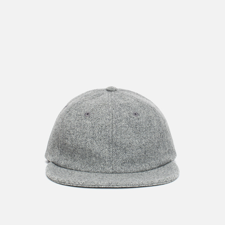 Norse Projects 6 Panel Kvadrat Cap Light Grey Melange