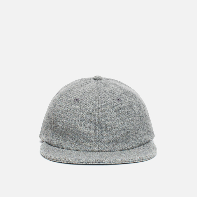 Кепка Norse Projects 6 Panel Kvadrat Light Grey Melange