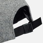 Кепка Norse Projects 6 Panel Kvadrat Light Grey Melange фото- 4