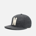 Кепка Norse Projects 6 Panel Flat Charcoal Melange фото- 1
