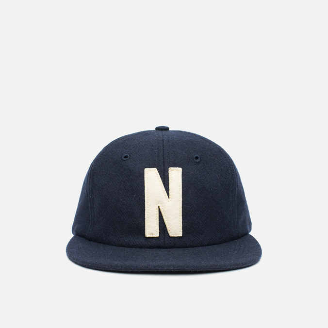 Кепка Norse Projects 6 Panel Flat Dark Navy