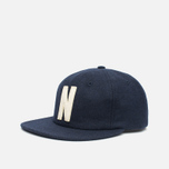 Кепка Norse Projects 6 Panel Flat Dark Navy фото- 1