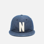 Кепка Norse Projects Denim 6 Panel Dark Indigo фото- 0