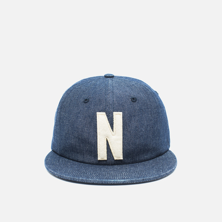 Кепка Norse Projects Denim 6 Panel Dark Indigo
