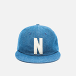 Кепка Norse Projects Denim 6 Panel Indigo фото- 0