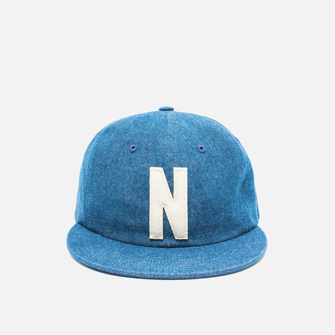 Кепка Norse Projects Denim 6 Panel Indigo