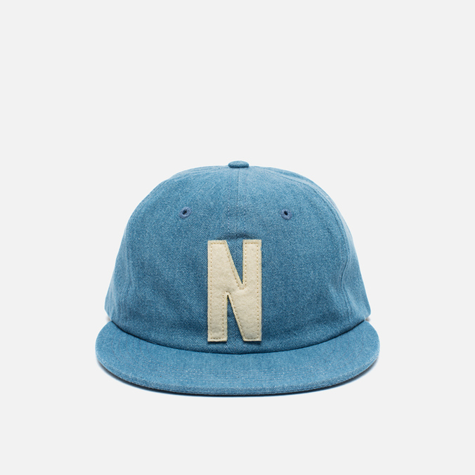 Кепка Norse Projects Denim 6 Panel Light Indigo