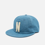 Кепка Norse Projects Denim 6 Panel Light Indigo фото- 1