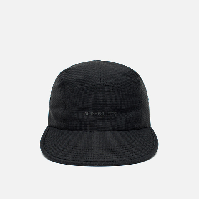 Кепка Norse Projects Foldable Light Ripstop 5 Panel Black