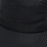 Norse Projects Foldable Light Ripstop 5 Panel Cap Black photo- 3