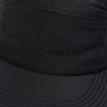 Кепка Norse Projects Foldable Light Ripstop 5 Panel Black фото- 3