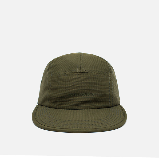 Кепка Norse Projects Foldable Light Ripstop 5 Panel Dried Olive