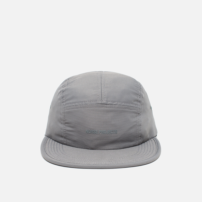 Norse Projects Foldable Light Ripstop 5 Panel Cap Grey