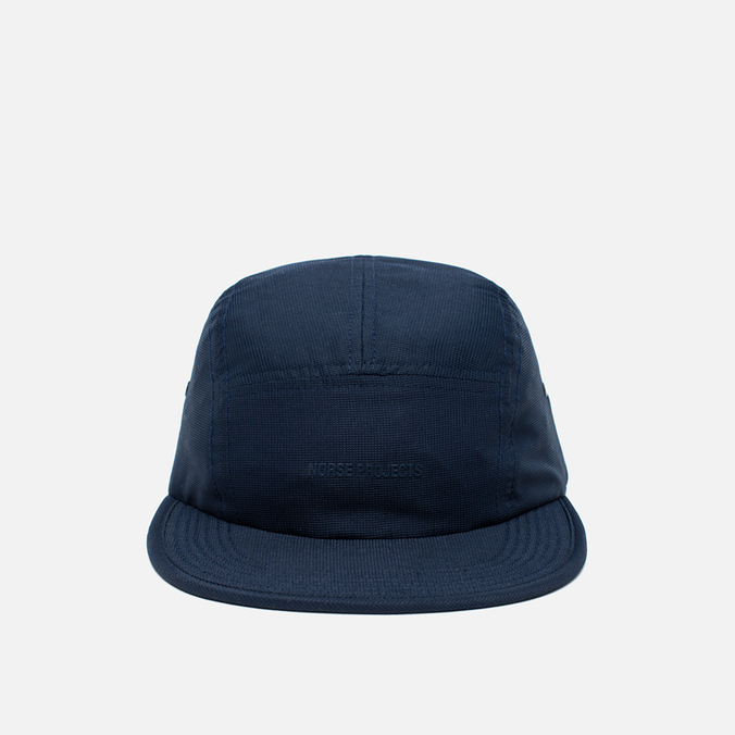 Norse Projects Foldable Light Ripstop 5 Panel Cap Navy
