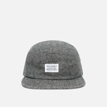 Кепка Norse Projects Herringbone 5 Panel Charcoal Melange фото- 0