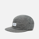 Кепка Norse Projects Herringbone 5 Panel Charcoal Melange фото- 1