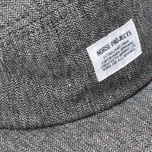 Кепка Norse Projects Herringbone 5 Panel Charcoal Melange фото- 3