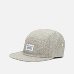 Norse Projects Herringbone 5 Panel Cap Light Grey photo- 1