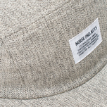 Norse Projects Herringbone 5 Panel Cap Light Grey photo- 3